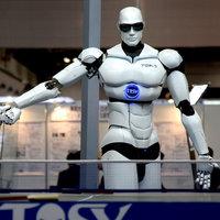 CAO et production pour robot interactif